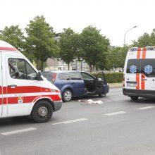 Ligoninėje mirė pėsčiųjų perėjoje partrenkta moteris (atnaujinta)