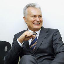 """""""Klaipėdos"""" redakcijos svečias G. Nausėda – apie ekonomikos perspektyvas"""