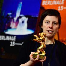 """Paaiškėjo, kas Berlyno kino festivalyje laimėjo """"Auksinį lokį"""""""