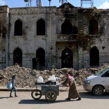 Saudo Arabija skyrė 100 mln. dolerių šiaurės rytų Sirijos stabilizavimui
