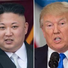 D. Trumpas sulaukė dar vieno Šiaurės Korėjos lyderio laiško
