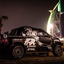 B. Vanagas prieš startą Dubajuje: grįžome 10 metų atgal