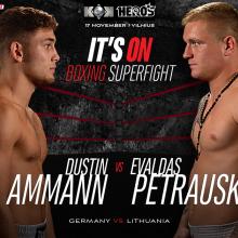 E. Petrauskas priėmė Vokietijos bokso talento iššūkį