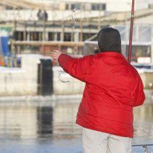 Žvejai laukia stintų sezono