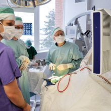 Ministerijos palaiminimas priklauso nuo ligoninės pavaldumo?