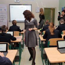 Prasidėjus mokslo metams mokykloms vis dar trūksta mokytojų