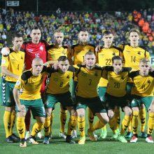 Lietuvos futbolo rinktinė mes iššūkį pasaulio čempionato dalyvėms