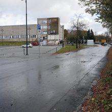 Grius sandėliai Priešpilio gatvėje