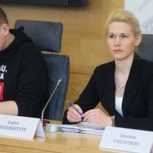 L. Matjošaitytė ginasi mainiusi R. Karbauskio ramybę į VRK vadovės pareigas
