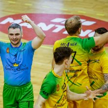 "Lietuvos tinklinio čempionato starte – dvi ""Amber Queen"" pergalės"