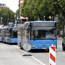 Miesto centre – eismo apribojimai