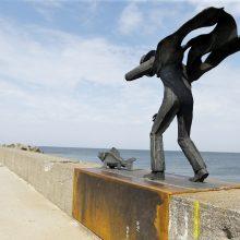 Dovana Klaipėdos miestui – skulptūra ant molo