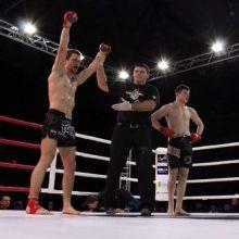 MMA kovotojas V. Sadauskas: pasižiūri į akis ir žaidimas prasideda