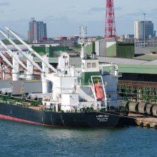 Birių krovinių terminalas planuoja naują plėtrą