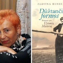 A. Ruseckaitė Giruliuose pristatys savo romaną apie poetą V. Mačernį
