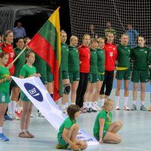 Lietuvos rankininkės pradeda atrankos kovas į Europos čempionatą