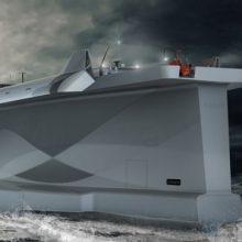 """Nesėkmė: pagal projektą """"Vindskip"""" sukurtas naujos kartos laivas yra laikomas vienu iš negražiausių pasaulyje."""
