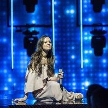 """Paaiškėjo, kelinta """"Eurovizijoje"""" pasirodys I. Zasimauskaitė"""