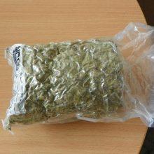 Šilalės rajono gyventojas vežė net 340 gramų kanapių