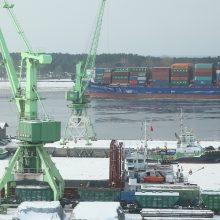 Rusijos keršto įtaka regiono uostams
