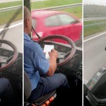 Kelionė autobusu virto košmaru