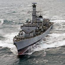 Klaipėdoje lankysis Jungtinės Karalystės karo fregata