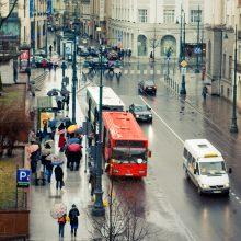 Vilniaus viešasis transportas bus nudažytas raudonai ir geltonai