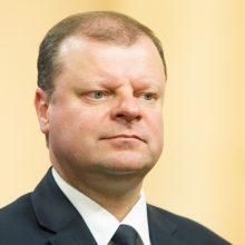 S. Skvernelis: bus siekiama realių laisvės atėmimo bausmių už korupciją