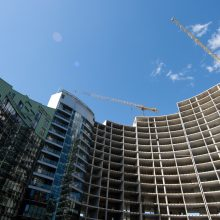Statybų sektoriuje dominuoja didieji rangovai