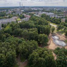 Kaip atrodys atgimęs Dainavos parkas?