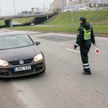 Pareigūnai nusitaikė į lakstūnus: vienas jų mieste skriejo 100 km/val. greičiu