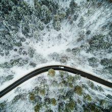 Sudėtingiausia eismo situacija – rajoniniuose keliuose