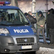 Baltarusijos pilietis surengė šaudynes naujienų agentūros pastate Lenkijoje