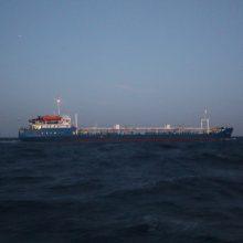 Prie Gabono krantų dingo tanklaivis su 17 gruzinų jūreivių