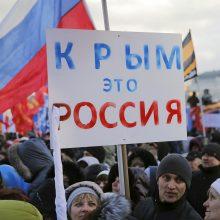 Ukrainos diplomatai pasmerkė CNN: Simferopolis pavadintas rusišku miestu