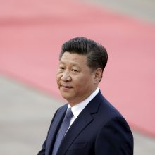 Kinijos ir JAV prezidentai kalbėjosi telefonu
