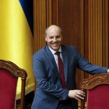 Ukrainos parlamento pirmininkas – už referendumą dėl narystės NATO