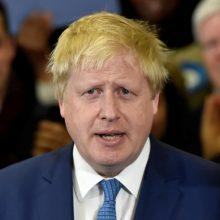 B. Johnsonas iškėlė JK ir Prancūziją sujungsiančio tilto idėją