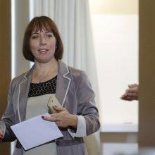 Estijos ministrė atsiprašė dėl interviu Kremliaus ruporui