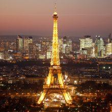 Paryžius atsigauna: pernai sulaukė rekordiškai daug turistų