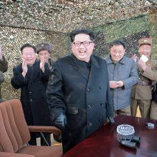 Pentagonas: JAV gali apsiginti nuo Šiaurės Korėjos raketų