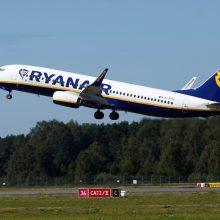 """""""Ryanair"""" prašo teismo blokuoti pilotų streiką Nyderlanduose"""