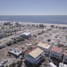 JAV pietryčiams smogusio uragano aukų padaugėjo iki 17