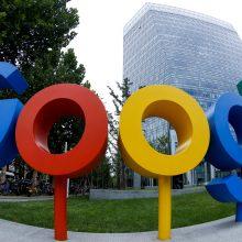 """Rusijos ryšių prievaizdas skyrė baudą """"Google"""""""