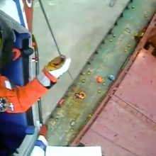 Prie Britanijos krantų ant seklumos užplaukė Rusijos prekinis laivas