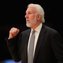 """""""San Antonio Spurs"""" treneris išpeikė D. Trumpą"""