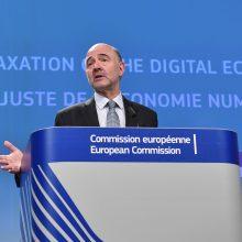Komisaras: ES siūlo naują mokestį technologijų kompanijoms
