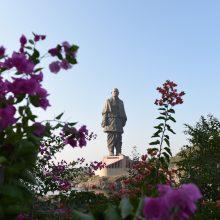 Indijoje atidengta aukščiausia pasaulyje statula