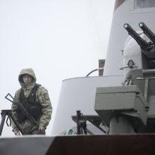 JAV ragina Europą palaikyti Ukrainą griežtinant sankcijas Rusijai