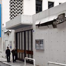 Atėnuose padegėjai atakavo Prancūzijos institutą